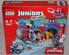 Lego 10687 | SPIDER-MAN HIDEOUT - Brand New | Juniors | Easy to Build