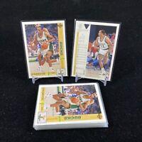 Lot of 20 1991-92 Upper Deck Milwaukee Bucks Cards #244 Alvin Robertson Lot Card