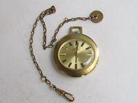 a0e7ee91c Vintage Endura Mechanical Wind Up Pocket Watch w/ Alarm 63mm w/8 ...