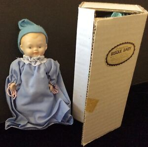 vintage bisque baby doll Shackman made inJapan old store stock 5 1/2""