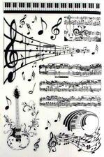 transfert à sec musique décoration loisirs créatif scrapbooking