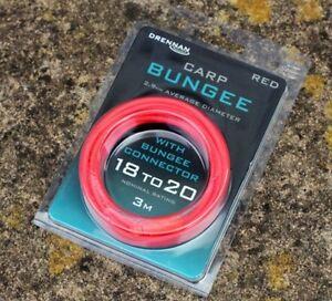 Drennan Carp Bungee Pole Elastic 18-20 Red