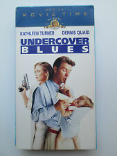 Undercover Blues (VHS, 1997, Movie Time) Kathleen Turner (Rare) NTSC