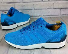 BNWB & Original Adidas Originals ZX Flux ® Solar Blue Zapatillas Uk Size 10