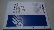 Goldstar cd-541 a l 546 service manual original repair book stereo system