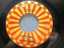 BUDDY KNOX: Party Doll/ Rock Your Little Baby To Sleep (45)  NM Ships WORLDWIDE!