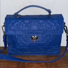 Loungefly Loves Hello Kitty Blue Embossed Purse Bag