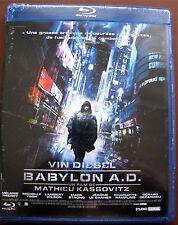"""BLU-RAY  """" BABYLON A.D """" Film avec VIN DIESEL Neuf"""