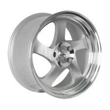 18x9.5 +35 Whistler KR1 5x100 +35 Silver Wheel Fits Subaru Legacy Wrx Brz 2014