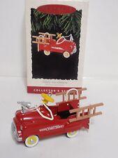 Murray Fire Truck hallmark ornament kiddie classics die cast metal 1995 Qx5027