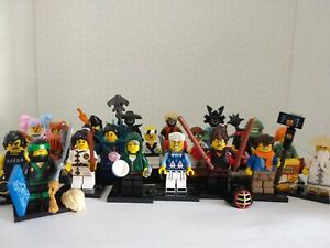 LEGO Lego NINJAGO Movie Collectable Minifigures Series - Select Your Character