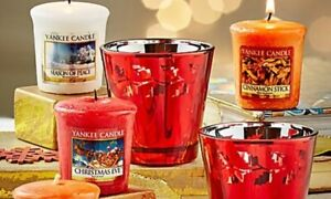 Yankee Candle Votive Scented Candles Popular Fragrances - Super Fast Delivery