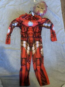 BNWT, Iron Man Costume, Age 3-4 Years, Fancy Dress, Avengers, Marvel