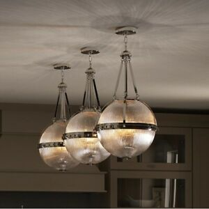 Kichler 43968PN Aster Globe Island Light Fixture Retail $963