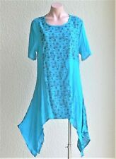 SALE! NEW Lightweight Short Sleeve Long Top /Beach Cover Up -ONE SIZE, FREE SIZE