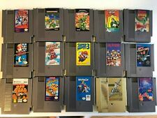 Lot of 16 Nintendo NES games, all tested - Mario, Zelda, Mega Man, and more!