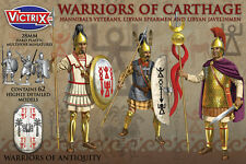 28MM WARRIORS OF CARTHAGE - VICTRIX - CARTHAGINIAN WARRIORS ANCIENTS