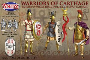 28MM Warriors Von Carthage - Victrix - Karthagische Warriors Ahnen