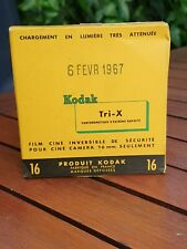 Kodak Tri -X réversible panchromatique extrême 16mm Ciné Film (périmé 1967)