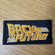 Back To The Future Logo Patch 4 inch