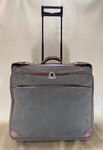 "Hartmann Wings 24"" Wheeled Garment Bag Large Luggage Diamond Jacquard Pattern"