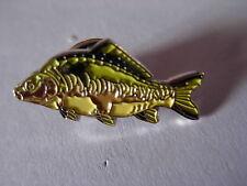 Mirror Carp pin badge. Angler. Angling. Fisherman. Fish.