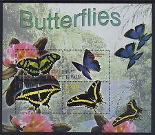 2003 TUVALU BUTTERFLIES SHEETLET FINE MINT MNH/MUH