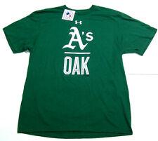 New Oakland A'S Athletics Under Armour Men Sz Xl Loose Ua Oak Mlb Heatgear Shirt