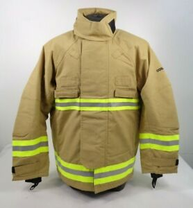 NEW Cosalt Fire Service Fighter Fireman Hi Vis Reflective Tunic Jacket E2/3 FJ2
