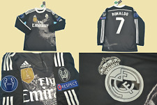 real madrid jersey shirt 2014 2015 away long sleeve ronaldo dragon playera ucl