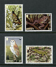 JERSEY 507-10, 1989 WORLD WILDLIFE FUND, MNH (JER079)