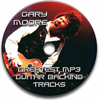 40x GARY MOORE STYLE MP3 ROCK GUITAR BACKING JAM TRACKS CD LIBRARY ANTHOLOGY