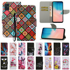 For Samsung A01 A21S A31 A51 A71 Magnetic Pattern Leather Flip Wallet Case Cover