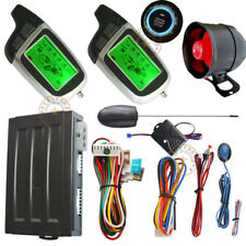 remote engine start stop auto car alarm system with window rolling up output