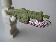 Custom LANCER ASSAULT RIFLE for Lego Minifigures Gears of War -Pick your Color