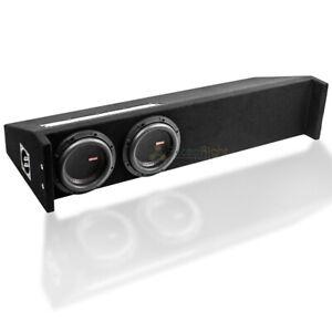 """Memphis Audio MJME6D1T Loaded Dual 6.5"""" Truck Box Ported 1400W RMS Mojo Mini"""