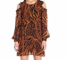 Vestiti da donna multicolore casual fantasia stampa animalier