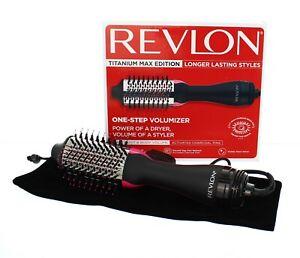 Revlon Hair Dryer Brush, Salon One-Step Ionic Hot Air Styler Volumizer