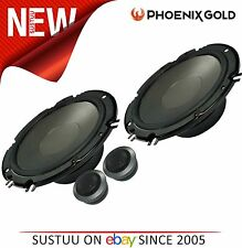 "Phoenix Gold 2 Way Car Door/Shelf Component Speakers│Z Series│6.5""│140W│Z65CS"