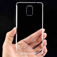 Ultrathin Slim Glossy Transparent Clear Hard Rigid PC Back Case For Smart Phones