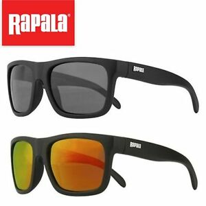 Rapala RVG300 Polarized VisionGear Sunglasses Black Orange Fishing Outdoor UV Pr