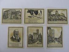 Lenzen 50/75 Pfennig Notes Lot of 6