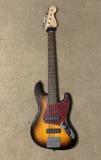 Squier 5 string bass guitar used