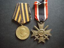 WW2 German & USSR (Russia) medals, stick pin, award.