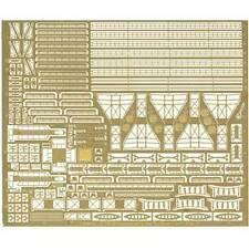 Set de détails en photodécoupe Liberty Ship 1/700