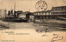 CPA  Grau du Roi - Rive droite Grand Hotel Pommier   (458775)