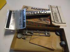 Mantua HO Gauge model railroad tank car Texaco brass , w box
