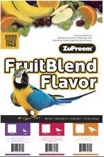 ZuPreem FruitBlend ML Avian bird diet parrot food vitamin minerals pellet 17.5lb