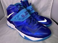 Nike Lebron James Zoom Soldier 7 Basketball Shoes Style 599818-401 7 Youth Boy