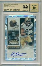 2015 Contenders Cracked Ice Rc Auto Willie Snead Serial # 21/23 BGS 9.5